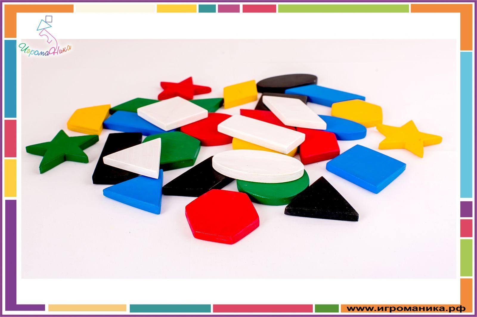Геометрическое лото своими руками для дошкольников 93